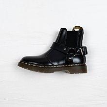 Dr. Martens 2976 經典款 馬汀靴 雀兒喜靴 黑色 硬皮 馬蹄扣帶 短筒 男女鞋