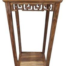 樂居二手家具(北) 便宜2手傢俱拍賣LG91702*榆木高腳花架* 原木家具 仿古家具 古董家具 中古全新家具買賣