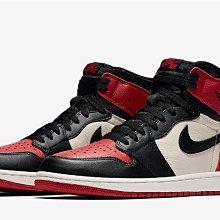 NIKE Air Jordan 1 Retro High OG 'Bred Toe' 555088-610喬丹籃球鞋男女