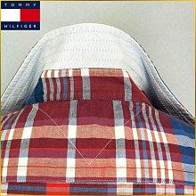 🇯🇵日本二手衣✈️格紋襯衫/TOMMY HILFIGER/近新品/男 M号/格紋/短袖襯衫/日本男裝/O3FFT