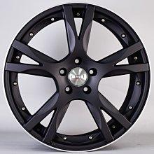 《大台北》億成汽車鋁圈量販中心-ERST鋁圈 VS5 平光黑車邊 18吋