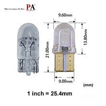 【PA LED】T10 COB 高功率 LED 原廠尺寸 定位燈 小燈 室內燈 牌照燈 儀表燈 車門燈 七色可選