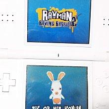 二手,NDS 瘋狂兔子 雷曼兔 英文版 Rayman Raving Rabbids/ 3DS可玩