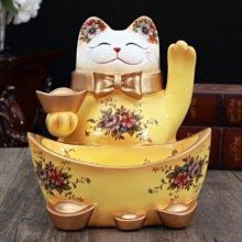 日本招財貓 聚寶盆 開業 開幕送禮 招財納福 玄關擺設 日本招財貓禮品