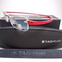 信義計劃 TAG Heuer 無框 眼鏡 3102 ( 3105 3106 3107 3108 ) 法國製 鈦金屬