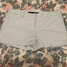 Zara 彈性橫條短褲36