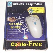 PC A4 TECH 紅外線無線滑鼠 IRW-25【全新商品】未拆封~特惠價格~~