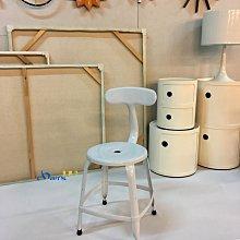 【挑椅子】Loft 工業風 餐椅 鐵椅 鯨魚椅 a chair (複刻品) CX-017 白色