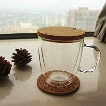 【螢螢傢飾】【竹製杯蓋 杯墊】#22  環保杯蓋,馬克杯蓋,兩面可用,耐摔耐撞保溫防燙,冷熱兩用皆適宜