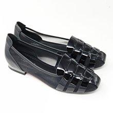 ♀️女:摩登金屬跟紳士尖頭縷空平底鞋(黑)、縷空平底鞋、金屬時尚感尖頭鞋、尖頭平底鞋、性感縷空包鞋、甜美個性尖頭鞋