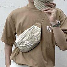❤️VS & CO❤️美國outlet代購 MLB 洋基經典花紋款兩用後背包腰包斜背包