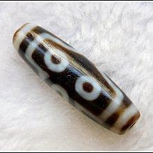 【雅之賞 佛教 藏傳文物】特賣*西藏老礦硃砂七眼天珠~800140