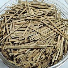 需預訂 4R2越南芽庄香味甜凉沉香 片煙絲煙片煙針煙絲條 熏香 煎香 香料散装 1克30元 沉香條長約4cm左右