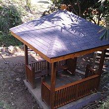 (尚霖木作工程館) 木製 涼亭 四角發呆亭 (HC011)