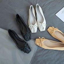 DANDT 韓版方頭蝴蝶结甜美舒適豆豆鞋 (APR  貨號) 同風格請在賣場搜尋BLU 或 歐美鞋款