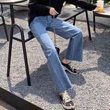 ►DR.DESIGN│DR32624特價-推薦自留版型好!小眾 歐美潮流 毛邊 微寬鬆 中高腰 慵懶垂感 寬管直筒牛仔褲