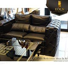 爵品訂製沙發 NC-S2-124複刻歐式拉扣牛皮沙發、布藝沙發、客制化、可訂制尺寸選皮料、布料、訂制工廠《專屬客制家俱》