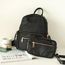 【里樂@ LeaThER】可拆式防潑水後背包 包中包 尼龍背包 740