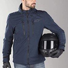 [阿群部品]義大利 Alpinestars Domino Tech Hoodie 軟殼連帽風衣 外套 防摔衣 休閒 可拆式4件護具 防風 防撥水 黑色 藍色