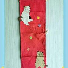 🏆【日本CARA卡拉貓】🏆卡拉貓可愛壁掛三層物架,寬25*高70cm
