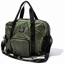 日本 KiU 107-906 軍綠色 高機能空氣感 可秒收摺 防潮防水 隨身旅行袋