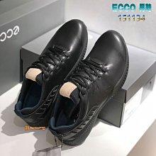 正貨ECCO S-Hybrid GOLF高爾夫球鞋 混合動能運動鞋 犛牛皮革 防水保護 TPU底舒服休閒鞋 151134