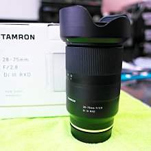 Tamron SP 28-75mm F/2.8 Di III RXD For Sony 公司貨 9成5新 盒單齊