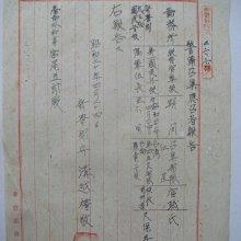 昭和20年4月24日學校職員教育警備召集報告