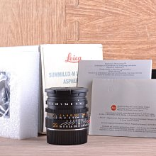 【品光攝影】LEICA 雙非 SUMMILUX-M 35mm F1.4 ASPHERICAL 三代#44466J