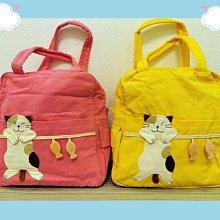 🏆【日本CARA卡拉貓】🏆卡拉貓手提包純棉高28*寬25*厚12cm