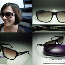 信義計劃 眼鏡 夏利豪 CHARRIOL 太陽眼鏡 日本製 大膠框 搭配手鐲項鍊 sunglasses