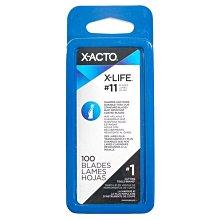 又敗家@美國X-ACTO專業#11筆刀刀片100入組X611適XZ3601筆刀片X3611筆刀替刃X3034 X3037