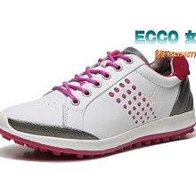 正貨ECCO GOLF BIOM HYBRID 女士高爾夫球鞋 ECCO休閒鞋 動能混合運動鞋 進口牛皮151514女鞋