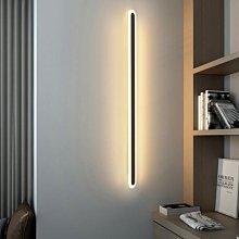 (現貨熱銷) 極簡線條壁燈臥室長條燈走廊客廳書房過道燈床頭LED墻壁燈批發