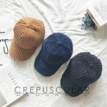 【PD帽饰】CREPUSCULAR-素色燈芯絨棒球帽 素色百搭運動風帽子棒球帽鴨舌帽男女學生簡約遮陽百搭防曬復古帽