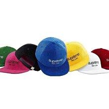 【HOMIEZ】2015 Supreme Corduroy Classic Logo 6-Panel 棒球帽 SH35