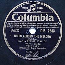 柯泰爾貝《修道院花園》78轉 10吋 蟲膠唱片 電木唱片