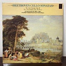 晨雨黑膠【古典】英版EMI/貝多芬:第3&5號大提琴協奏曲/Du Pre/Stephen Bishop