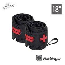 新品上市【美國 Harbinger】健身護腕 18吋/45CM 重訓 舉重 蹲舉 運動護腕1對(2入)