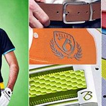 藍鯨高爾夫 BELLEZ  Double Fun iBelt-Diamond 寬版髮絲紋皮帶頭 #15210102