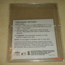 美國職棒  2000 Fleer Tigers  Temporary Tattoos