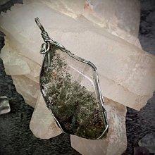 綠幽靈水晶手綁吊墜(AE018)