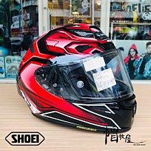 【帽牧屋】 日本 SHOEI X-Fourteen AERODYBN TC-1 全罩式安全帽 X14 公司貨 黑/紅