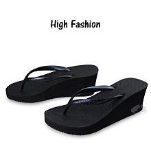 "Havaianas High fashion 大厚底 ""免運"" 高跟6公分 黑色 -阿法.伊恩納斯 巴西拖鞋 楔型鞋"