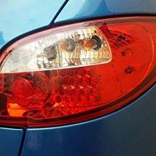 《※台灣之光※》全新 PEUGEOT 寶獅 206 98 99 00 01 02年高品質LED紅白晶鑽尾燈後燈組 台灣製