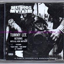 799免運CD~METHODS OF MAYHEM【全民公害】知名歌手TOMMY LEE雜亂無章樂團、美國英語專輯免競標