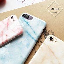 iPhone 7/ i8 Plus 5.5吋 大理石保護套 軟殼 晶透暖色系 多層次石頭紋 光澤亮面 矽膠套 手機保護殼