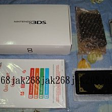 N3DS任天堂25周年薩爾達限定主機(美規)單主機(全新)