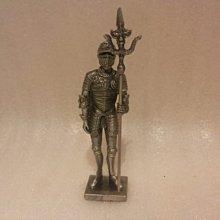 [ 預購品  設計作品 合金 鐵甲武士 威武立姿 ]-08495款-歐洲中古世紀 希臘羅馬武士