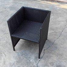 [ 晴品戶外休閒傢俱館] 編藤餐椅  戶外椅 庭院椅 休閒椅